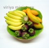 Buy Miniature Tropical Fruits In Basket