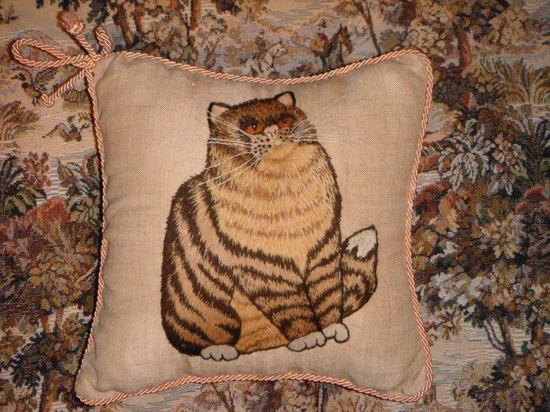 Buy Cat Shaped Pillows Handmade