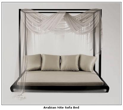 Buy Arabian Nite Sofa Bed