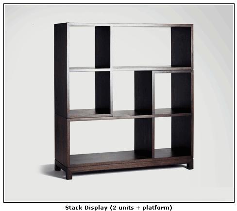 Buy Stack Display (2 units + platform)
