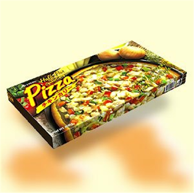 Buy Half - Pan Pizza (Chicken Curry)