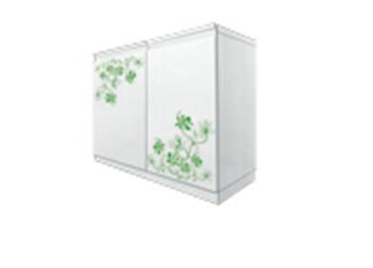 Buy PN-201 Pantry 2 cabinet doors open