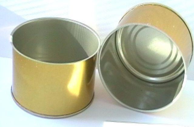 Buy Mmetal scrap Pressed Tin Can