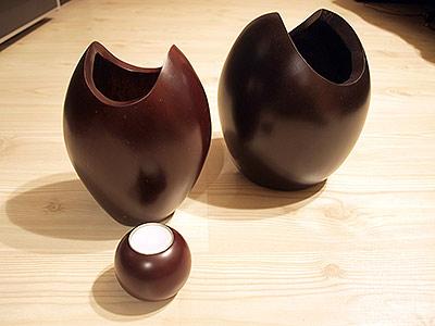 Buy Vase wood gift for women