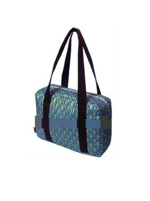 Buy 1-piece Handmade Thai Traditional Design Cotton Fabric Gold Printed Bag for your Working days