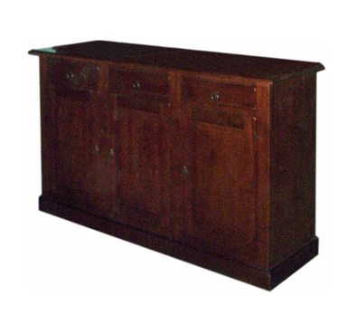 Three cabinet doors
