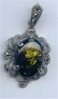 Buy Elegant silver pendant