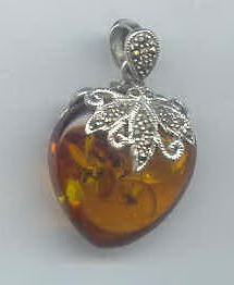 Buy Sterling silver with stone pendant