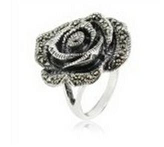 Buy Marcasite Rose ring