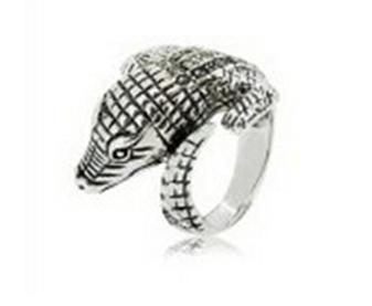 Buy Animal marcasite ring