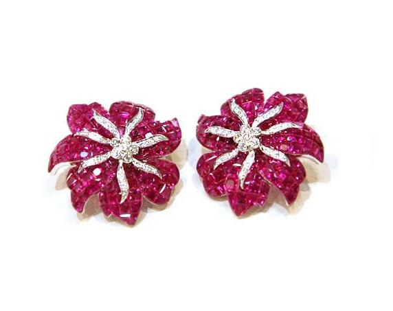 Buy Ruby Earrings