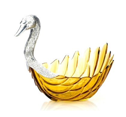 Buy Swan Fruit Bowl