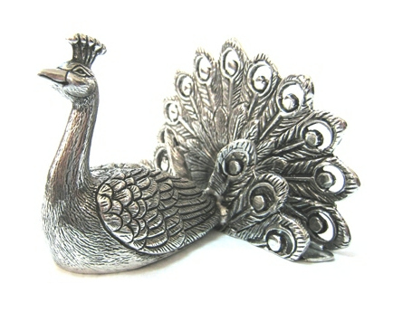 Card Holder Peacock
