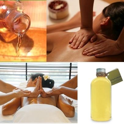 Buy Plumeria Massage Oil
