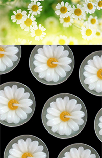 Buy Flower candle, scented candle