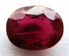 Buy Unheated Oval Ruby
