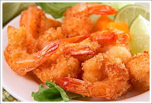 Hand Breaded Shrimp