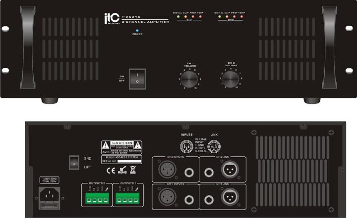 Buy Single Channel Power Amplifier 240W