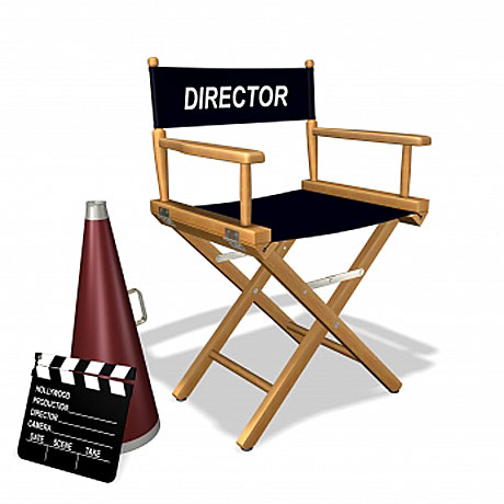 Director Chair wooden