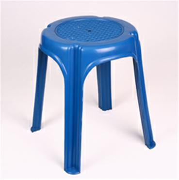 blue plastic chair - Plastic Chair