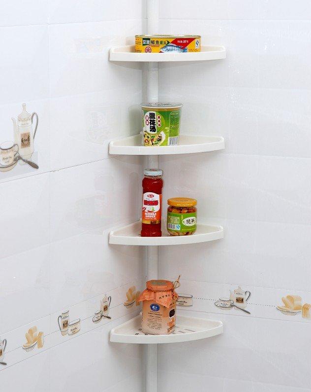 Buy Wall shelf for bathroom plastic Cazero
