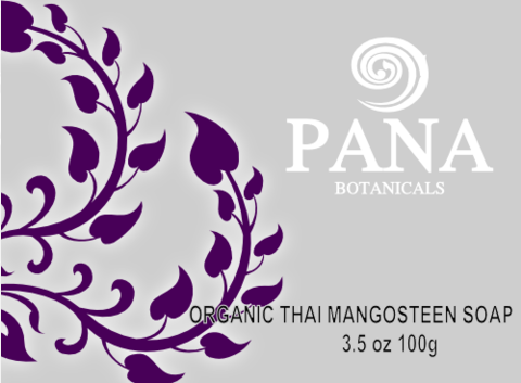 Organic thai mangosteen soap