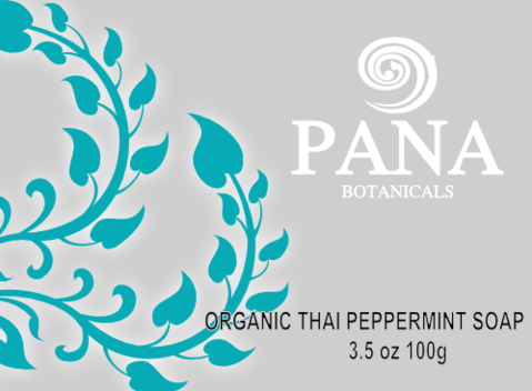 Organic thai peppermint soap