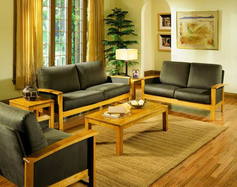 Amazing Teak Wood Living Room Set ... Part 30