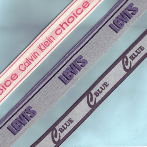 Buy Elastic jacquard ribbons