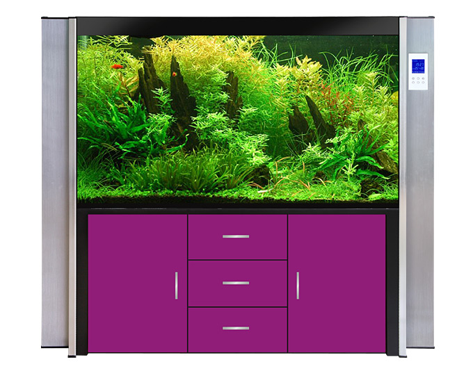 Buy Glass Aquariums with LCD Touch Screen Range