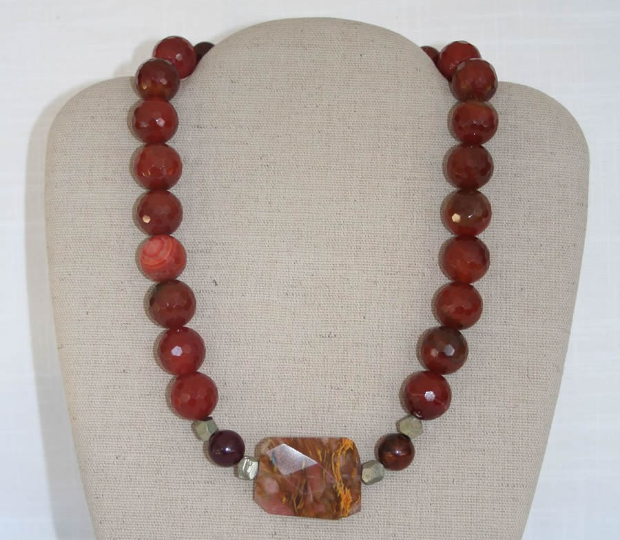 Buy Semi Precious Stone Jewelry, Necklaces