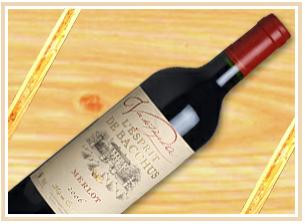 Buy L'esprit De Bacchus Merlot 2009 Red
