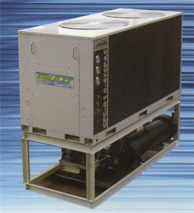 Buy Air cooled package water chiller unit / Model CPC-012-STCPAC