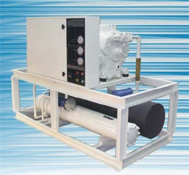 Buy Water cooled package liquid chiller unit / Model CPC-012\30-WC