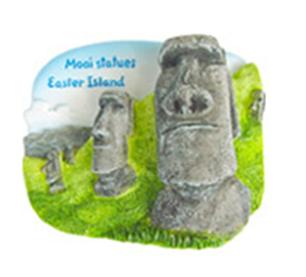 Buy Worldwide souvenir magnets Stones Moai (Easter Island)