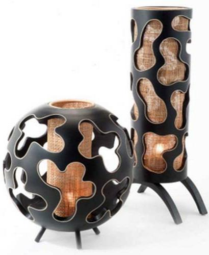Buy Mango wood / rattan lamp LVAT/LVALD
