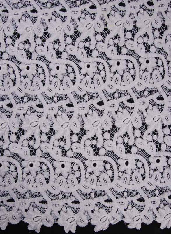 Buy Chemical lace fabric
