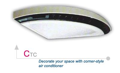 Buy Decorate your space with corner-style air conditioner