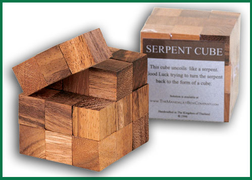 Buy Wood Cube puzzle