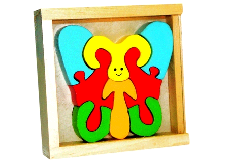 Buy Wooden Butterfly Puzzle