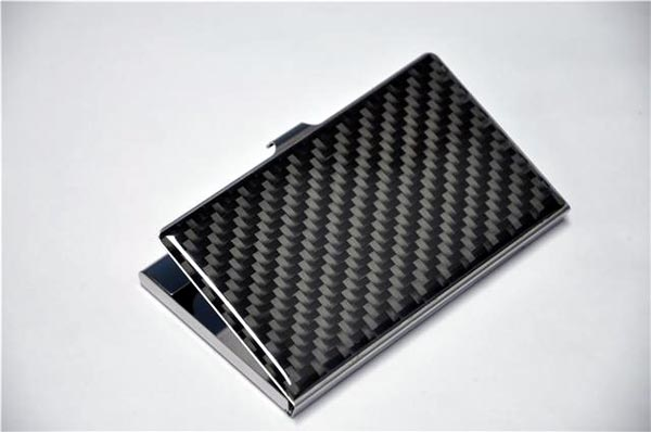 Buy Carbon fiber business card holder