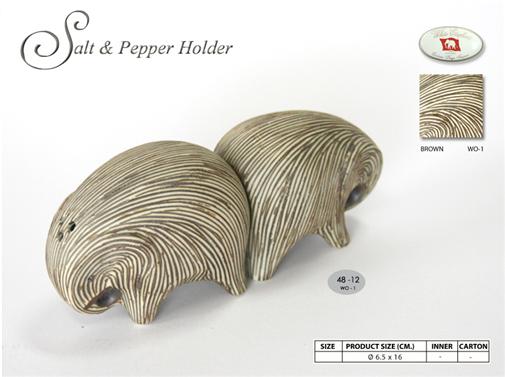 Buy Elephant Salt & Pepper Holder