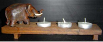 Buy Decorate Candle Holder Elephant DH-046