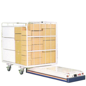 All-surface low-floor type AGV