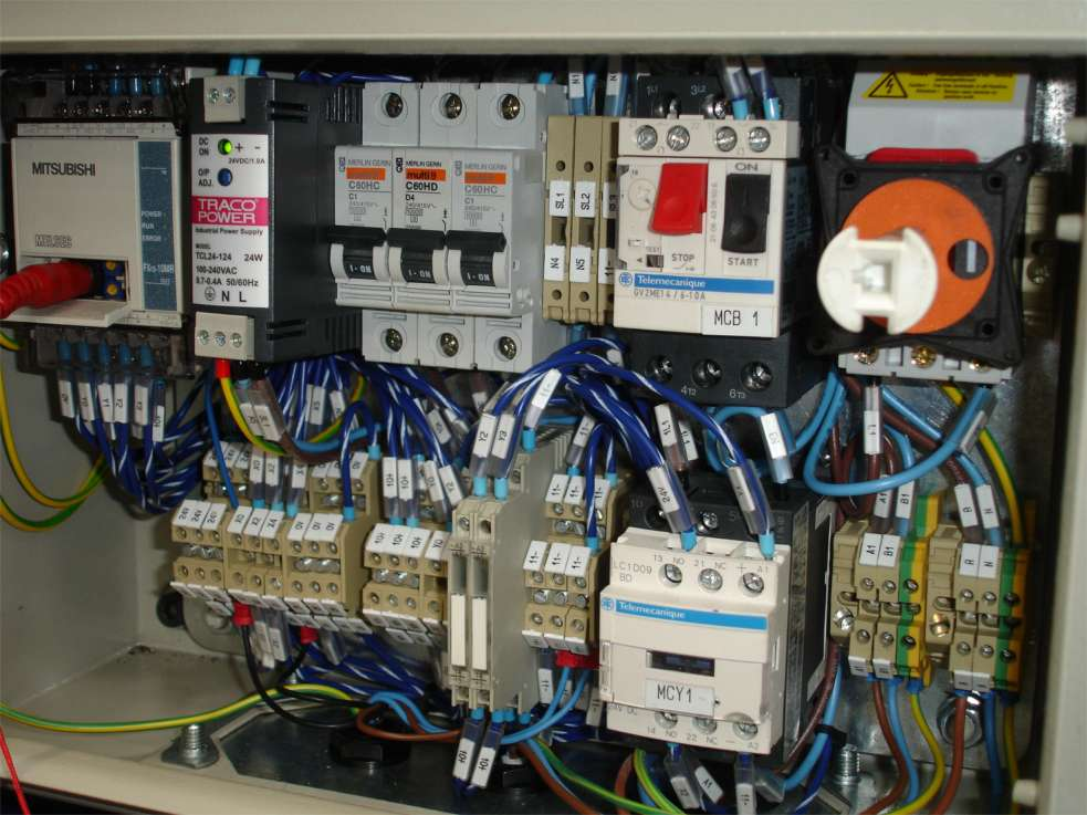 Electrical Control Cabinet for sale in Rat Burana on English