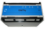 Buy Orbithy OrbiThy is designed as a three-phased dual polarity thyristor trigger unit for soft-start of motors and soft-connection of generators. Profibus DP interface. DIN-rail snap-on mounting. Programmable configuration. 2 Digital inputs.