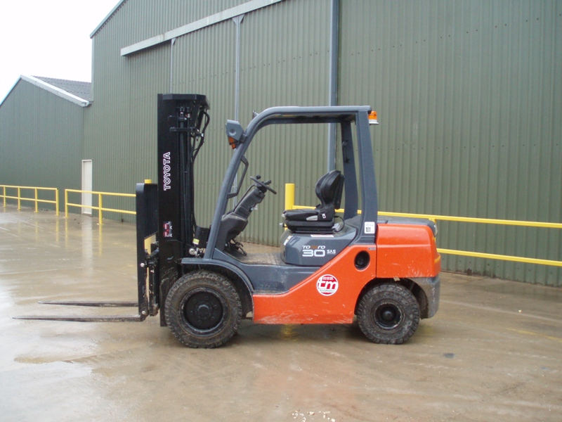 Buy Forklifts from Japan