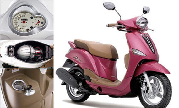 Buy Motorcycle Yamaha Fiore 4-stroke SOHC engine