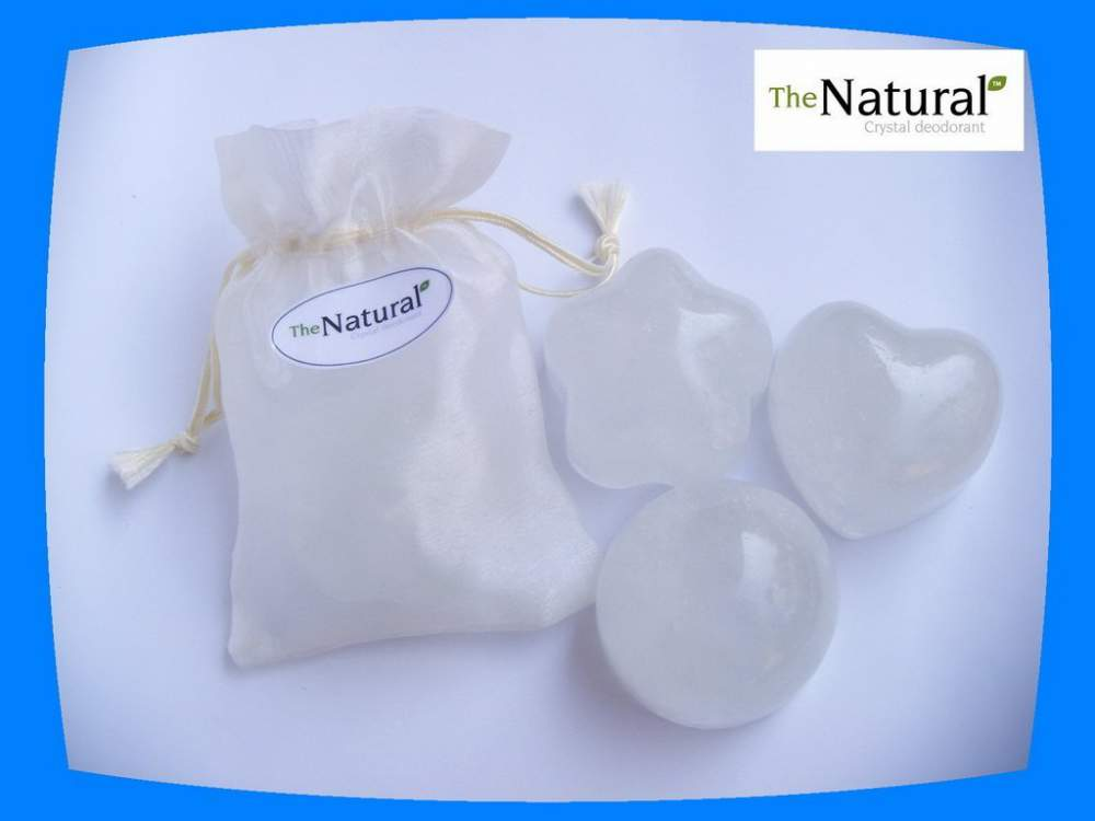 Buy Natural Crystal Body Deodorant Stone