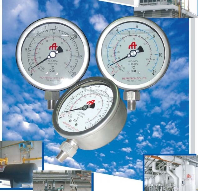 Buy Ammonia & Halocarbon Manometer